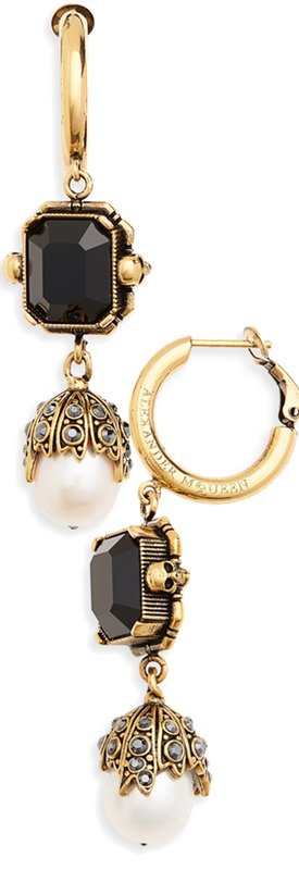 ALEXANDER MCQUEEN Pearl Drop Earrings