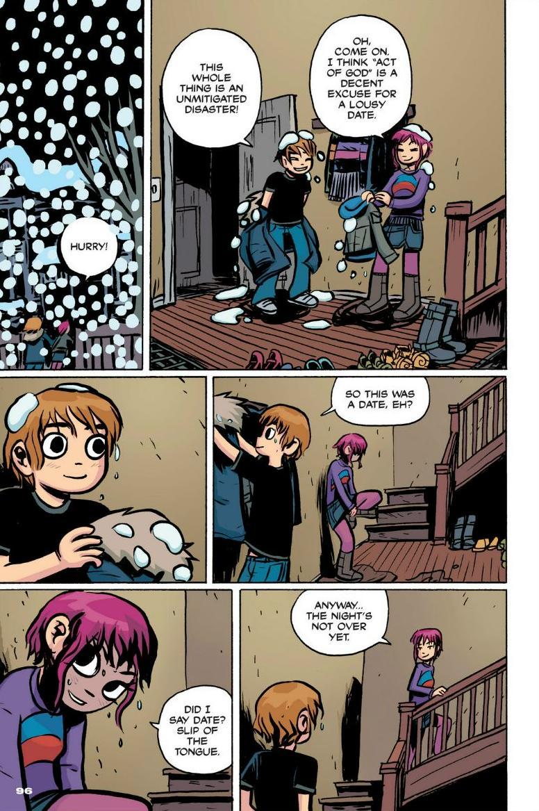 Read online Scott Pilgrim comic -  Issue #1 - 87