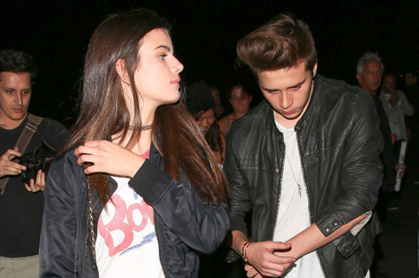 Brooklyn Beckham is on a date with his new girlfriend Sonia Ben Ammar