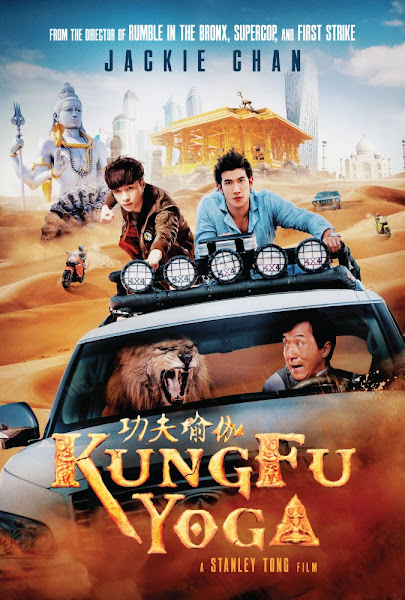 Poster of Kung Fu Yoga 2017 Dual Audio [Hindi-English] 720p BluRay With Esubs Download