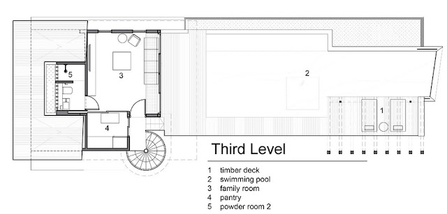 แปลนบ้าน 3 ชั้น ชั้น 3