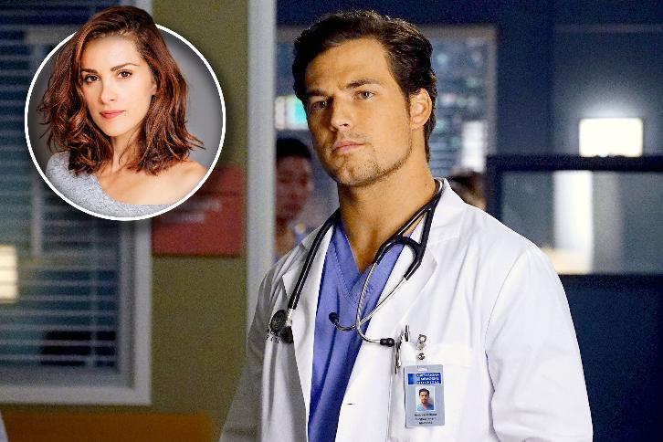 Greys Anatomy Season 14 Stefania Spampinato Cast In Multi