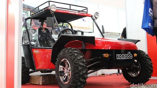 Mobil Nasional Komodo untuk TNI Tangguh dan Anti Peluru
