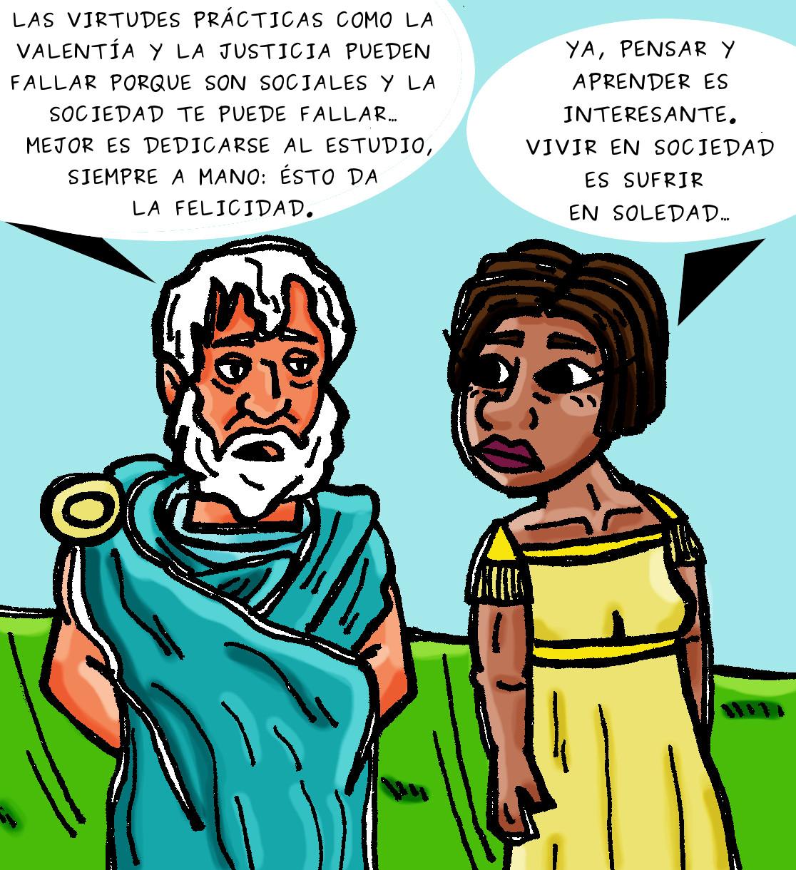 Juanjas Zaballa: Aristóteles: filosofar es felicidad