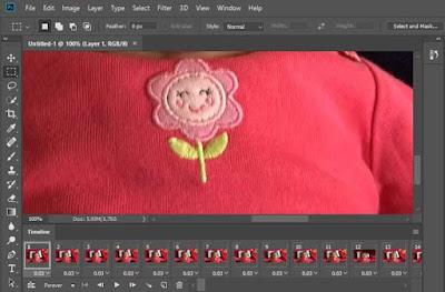 cara membuat GIF dari video menggunakan photoshop-gambar3