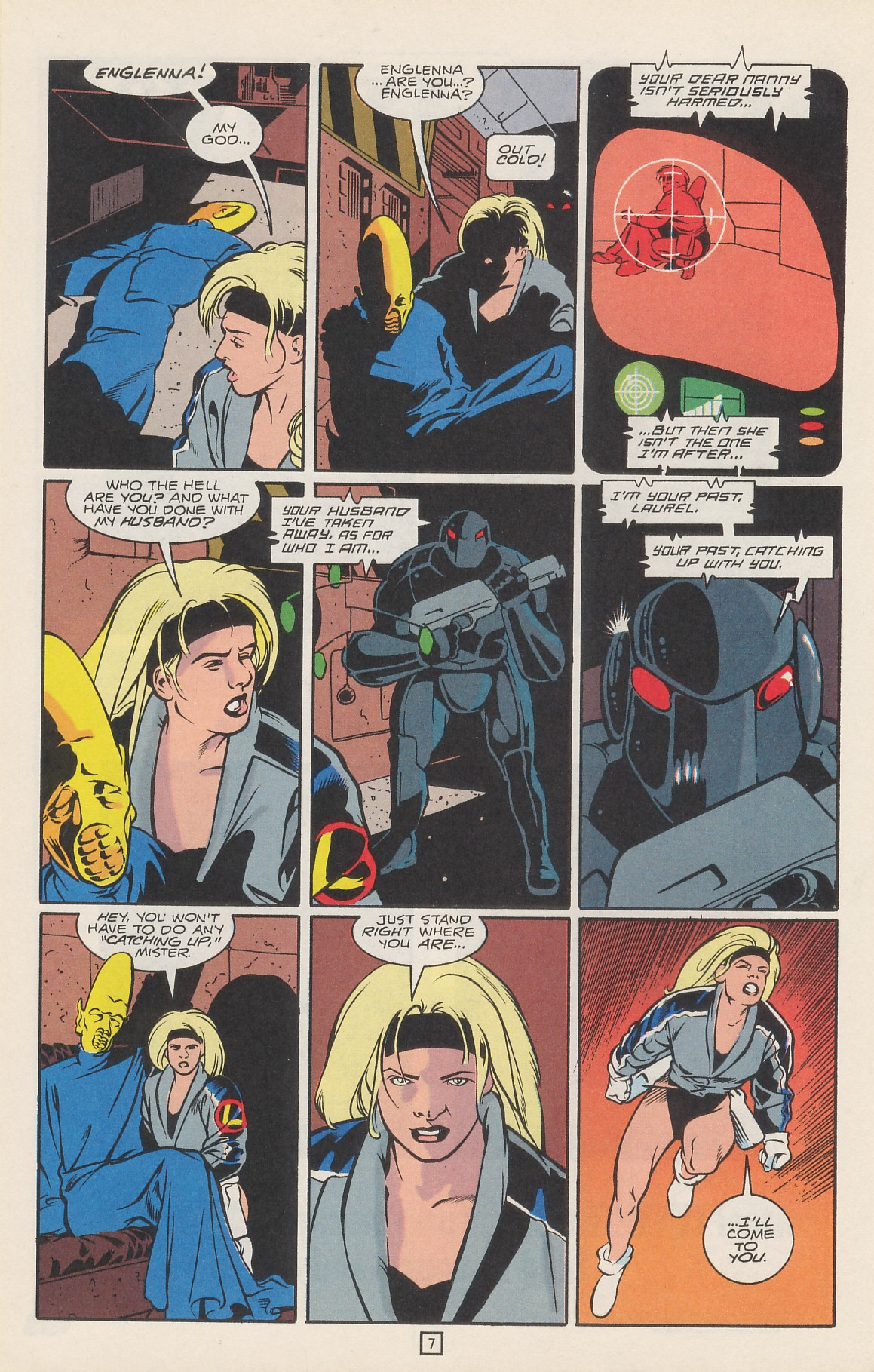 Legion of Super-Heroes (1989) 42 Page 9