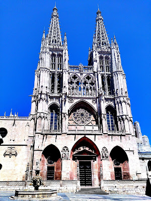 Patrimonio de la Humanidad en Europa y América del Norte. España. Catedral de Burgos.