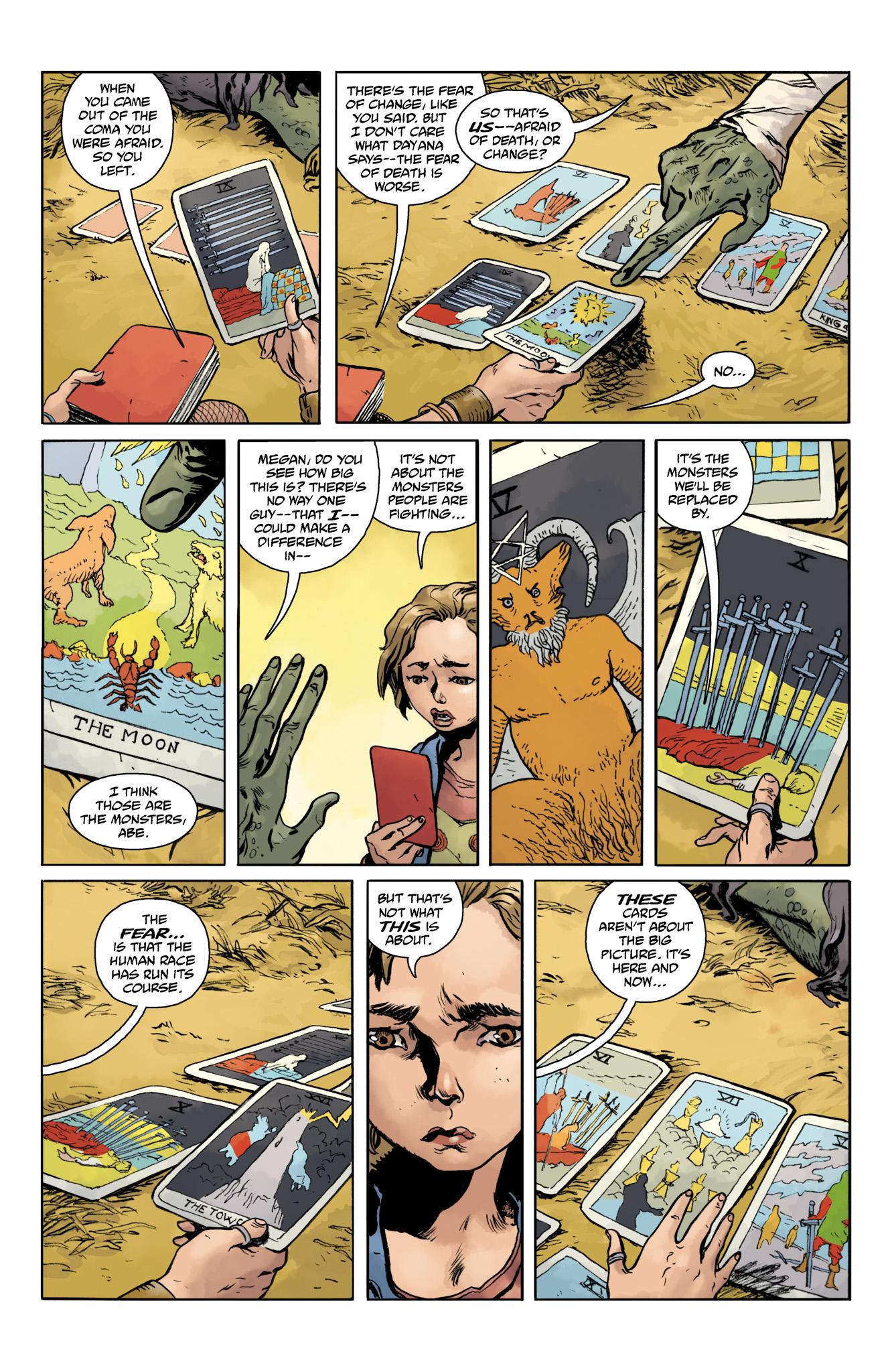 Read online Abe Sapien comic -  Issue #20 - 23
