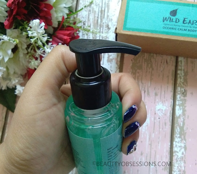 Wild Earth Oceanic Calm Body Wash Review