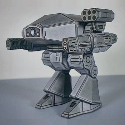 Papercraft Miniature Gaming Mecha