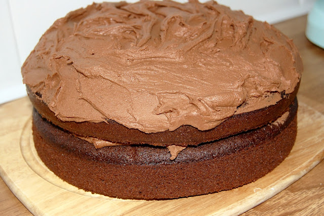 Catch the Chocolate Fudge Cake recipe here