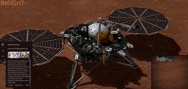 Μετά από 484 εκατομμύρια χιλιόμετρα το InSight προσεδαφίστηκε στον Άρη (video)