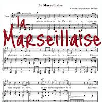 la marseillaise, hymne national français, FLE, le FLE en un 'clic'