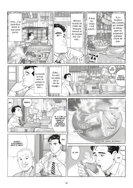 Les Rêveries d'un gourmet solitaire Casterman Planche 10