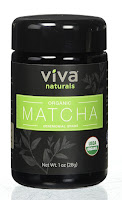 Viva Naturals Organic Matcha Green Tea Powder