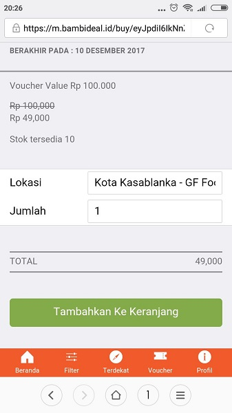 Review BambiDeal