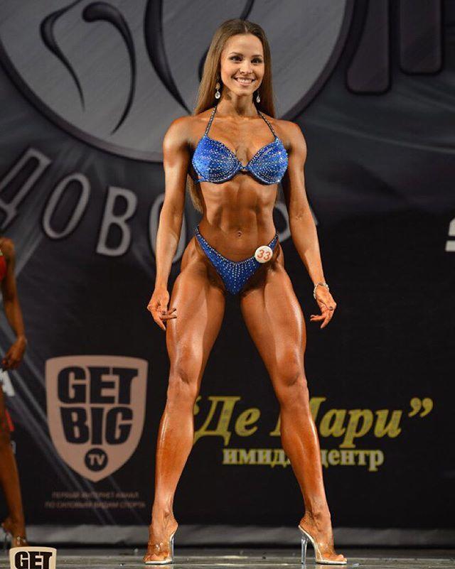 Russian IFBB Athlete Elizaveta Mukminova