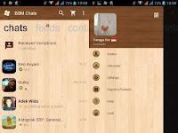 BBM MOD WP Wood Transparanv2.11.0.18 Apk