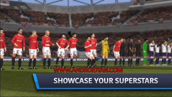 terbaru kepada kalian semua sehingga kalian sanggup mempunyai game android terupdate setiap  DLS Dream League Soccer 2017 Mod Apk + Data v4.15 Unlimited Coins/Gold Terbaru