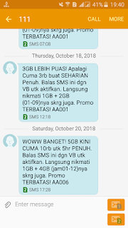 Beli Paket Internet Murah 3 Tri 5GB 5 Hari Cuma Rp10000