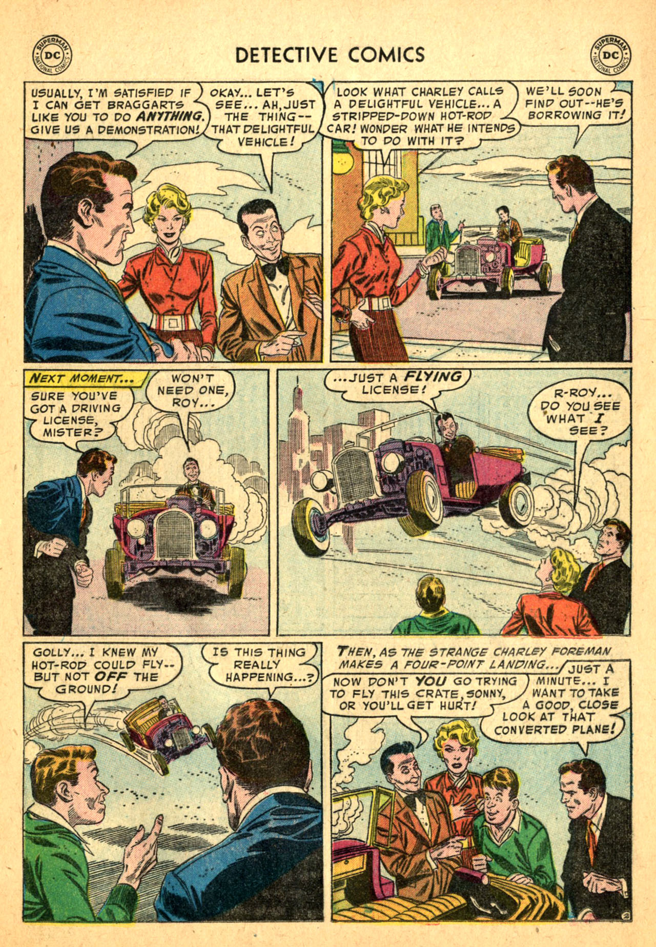Read online Detective Comics (1937) comic -  Issue #227 - 19