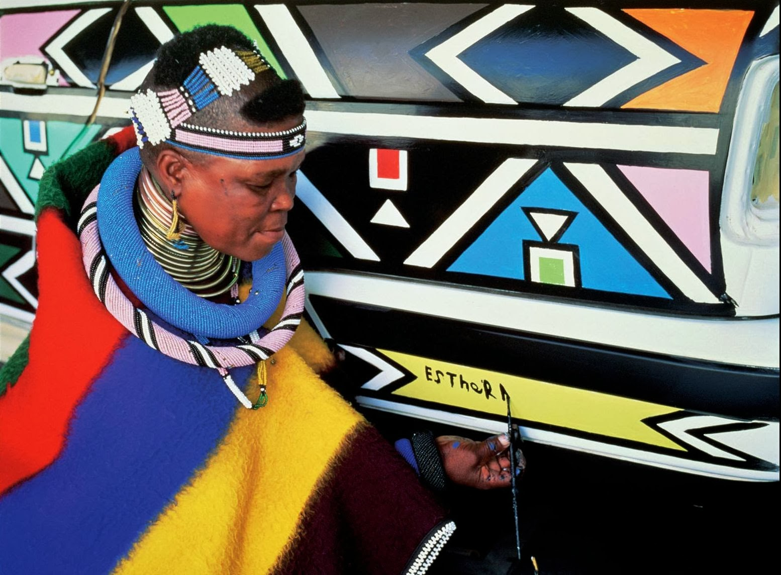 Light Color Sound Ndebele