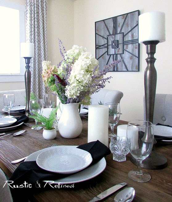 Dinner time table setting