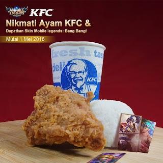 Beli KFC berhadiah Skin Mobile Legend?