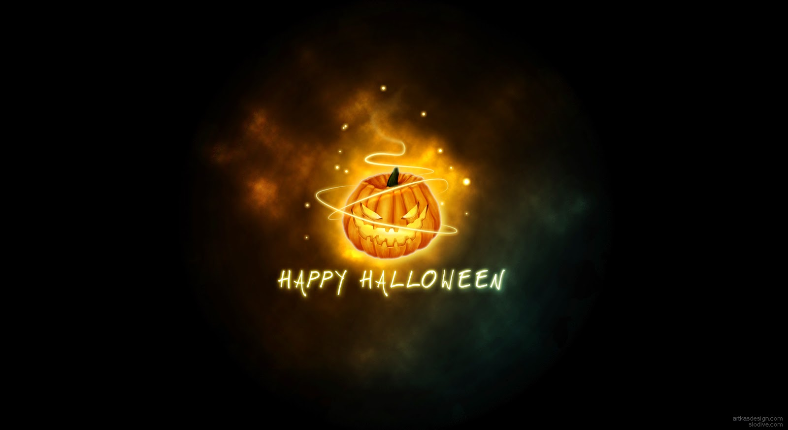 Cute Small Sad Girl Wallpaper Happy Halloween Day Holiday Wishes Text Pictures Card For