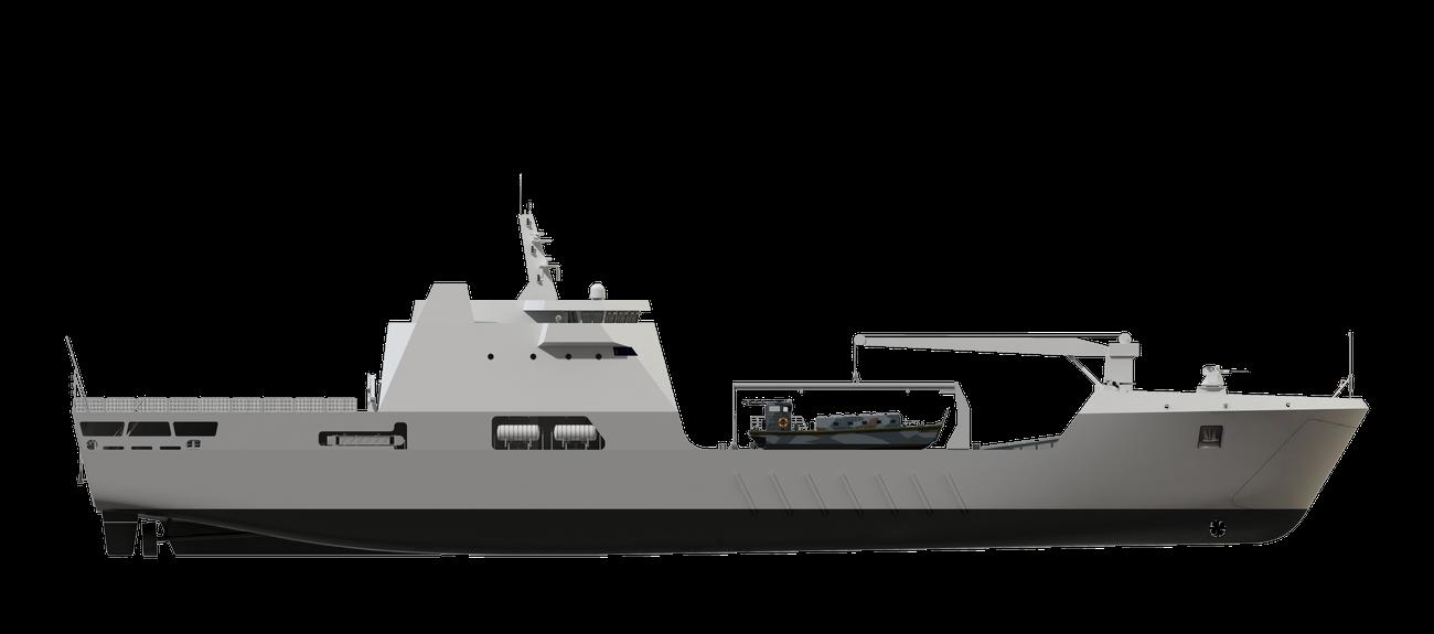 Damen Shipyards побудує для Нігерії танкодесантний корабель