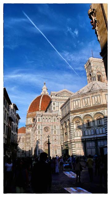 フィレンツェの澄み切った空