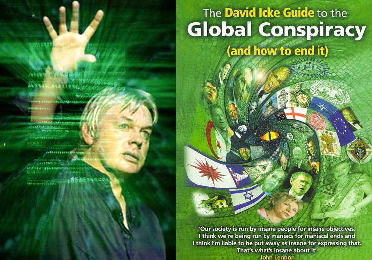 Risultati immagini per david icke guide to the global conspiracy