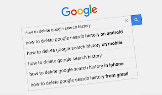 Manage Google search history