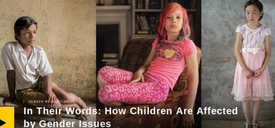 National Geographic on gender