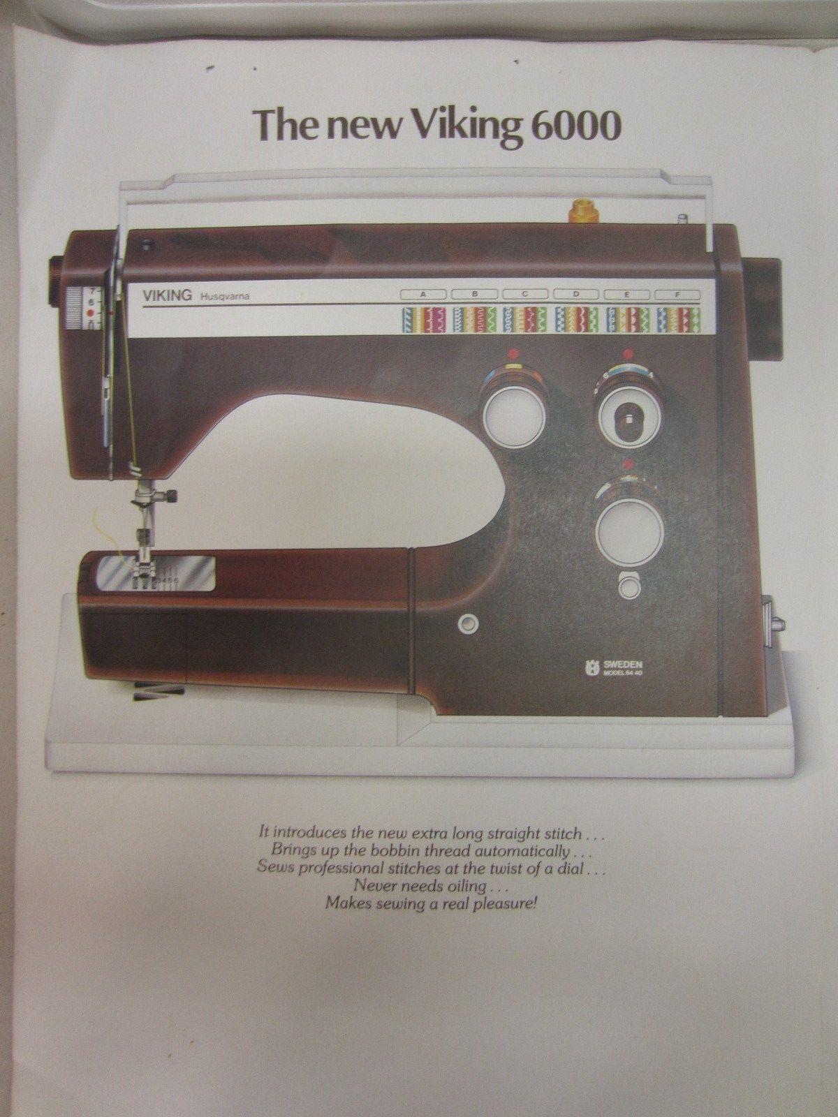vintage sewing machines viking husqvarna sewing machines rh tumorfarmer blogspot com Husqvarna Viking 400 Sewing Machine Manuals Viking Sewing Machine Dealers