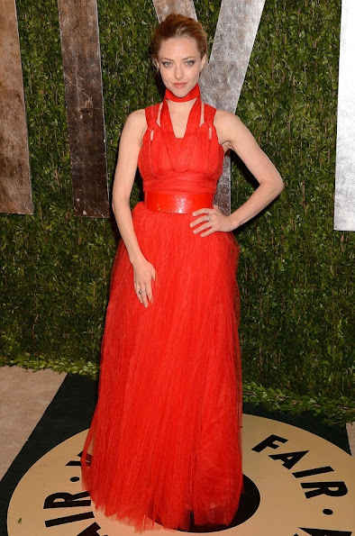 Amanda Seyfried in a Givenchy dress for the after party