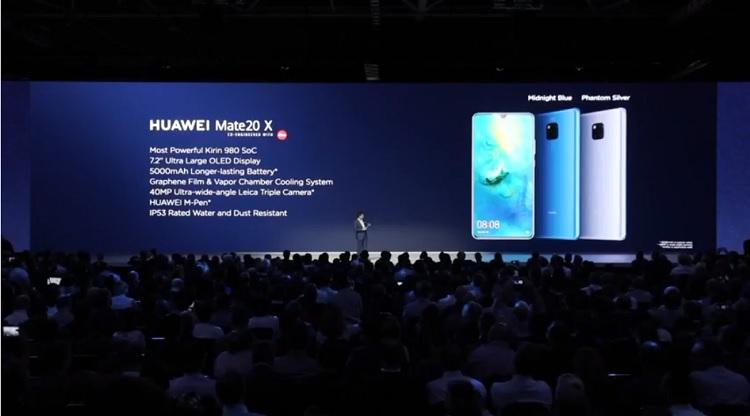 Huawei Mate 20 X Announcement