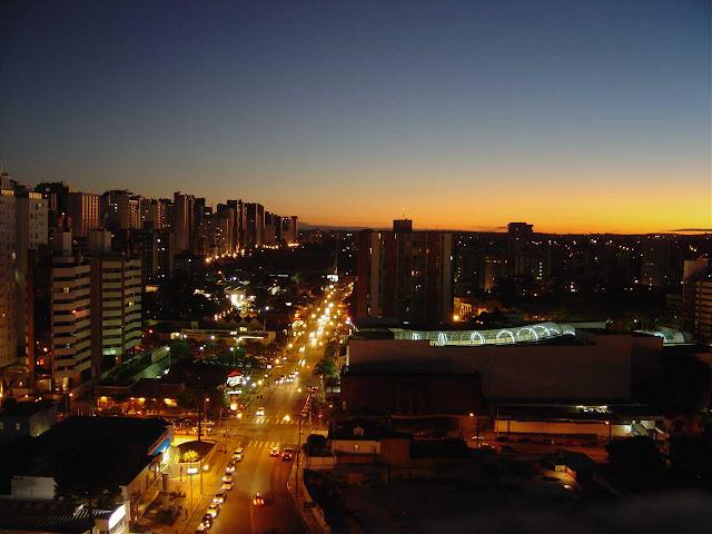 Um final de tarde em Curitiba