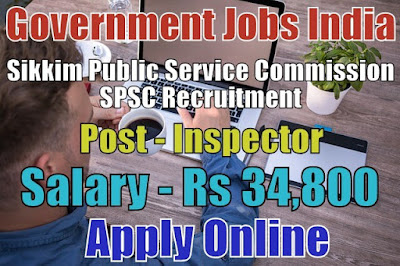 Sikkim Public Service Commission SPSC Recruitment 2018