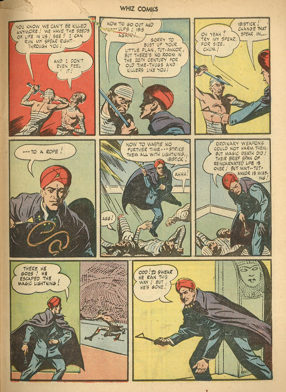 WHIZ Comics issue 67 - Page 31