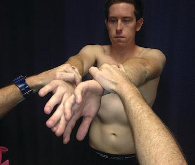 O' Brien's Active Compression Test - El Paso Chiropractor