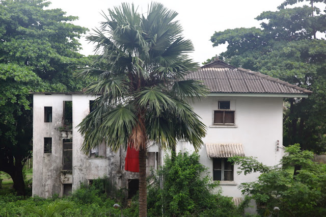 the colonial house that no longer stands