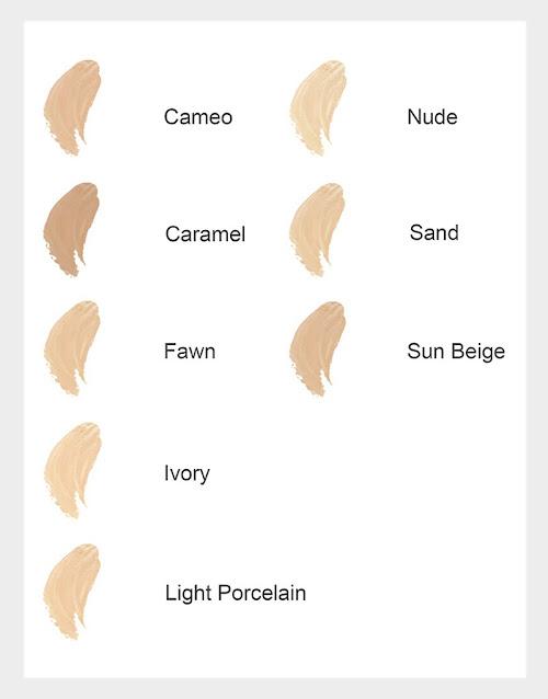 Maybelline Dream Satin Skin Liquid Foundation Shades/Swatches