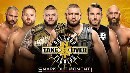 Poster Of WWE NXT TakeOver New Orleans 7th April 2018 HDTV 480P 300MB