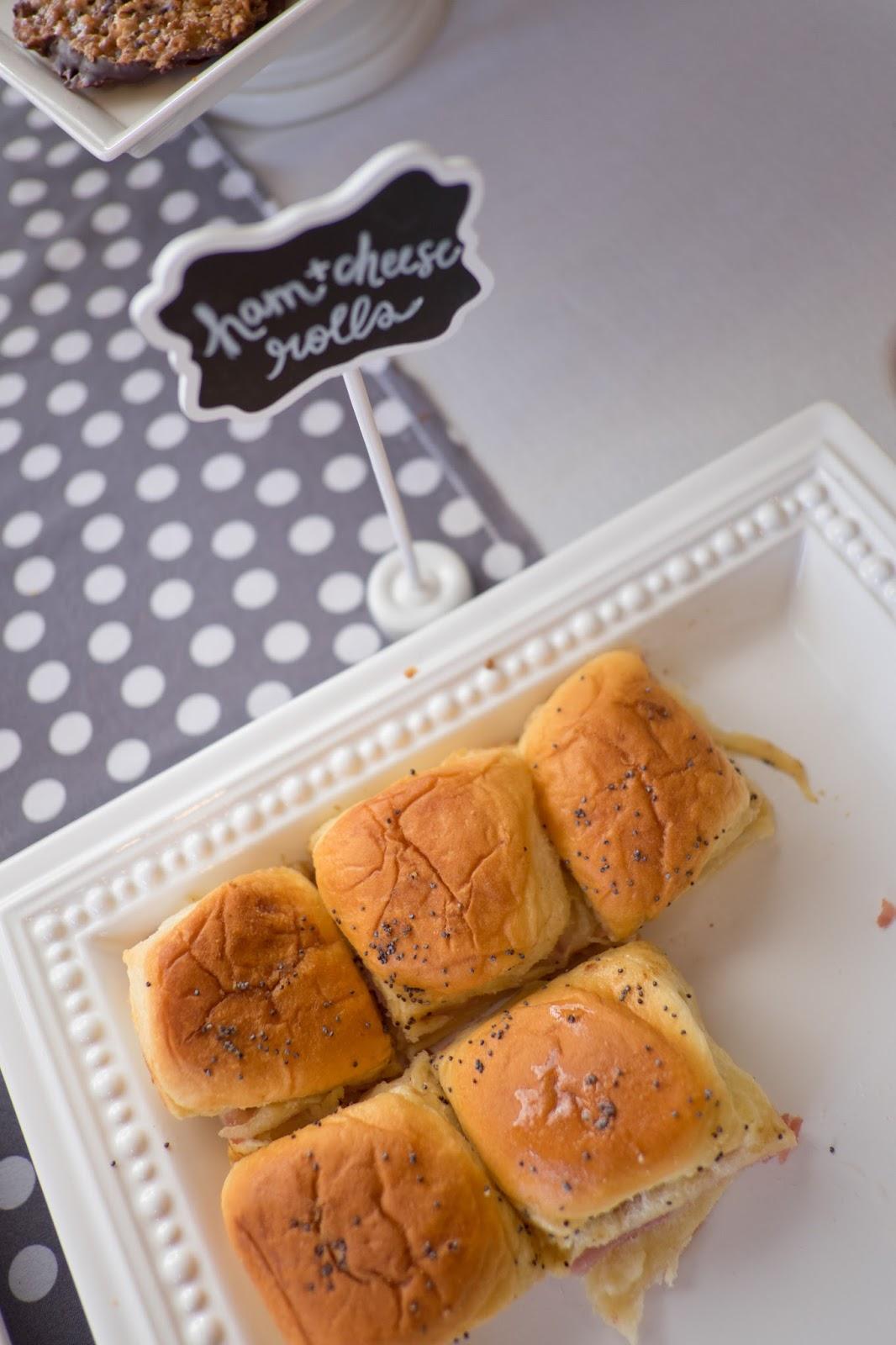 Domestic Fashionista Janice S Ham And Cheese Rolls