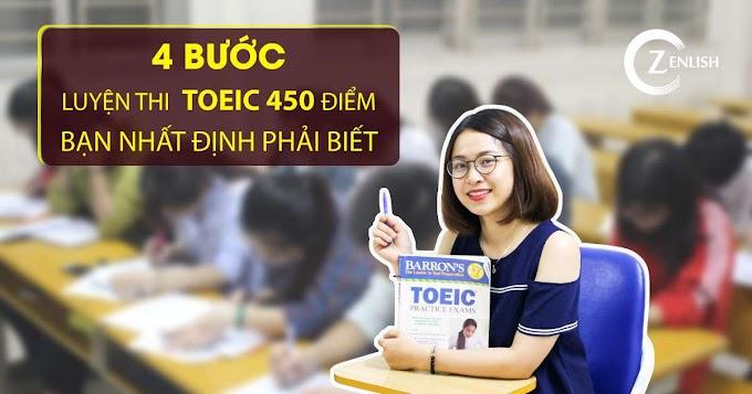 Khóa học bí kíp đạt được 450 điểm TOEIC dành cho người mất gốc
