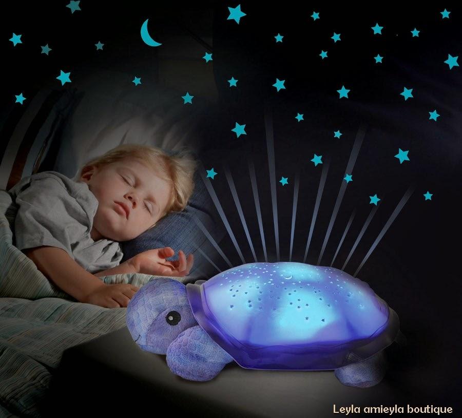 Tidur Malam Dengan Twilight Turtle Night Lights