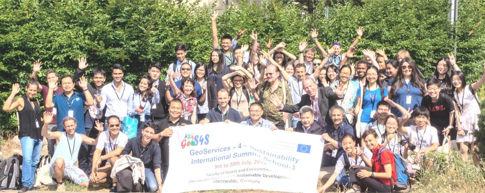 GeoS4S International Summer School-3 in Germany!