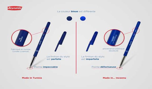 Contrefaçon : Des stylos Reynolds contrefaits circulent en Tunisie