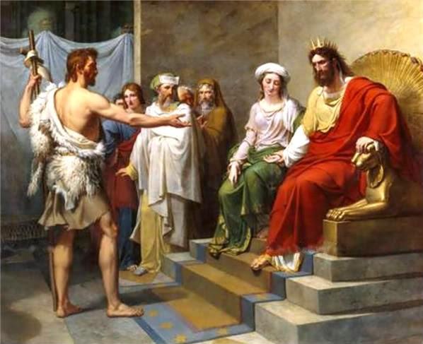 29/08 – Thứ tư. Thánh Gioan Tẩy Giả bị trảm quyết.